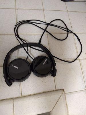 Sony Z series wires headphones for Sale in Salt Lake City, UT