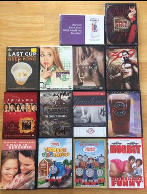14 DVD movies for Sale in Apex, NC