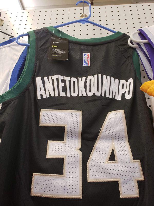 Giannis antetokounmpo milwaukee bucks jersey with tags. San Antonio ... 35eca1ca3