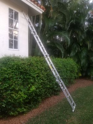 Photo Werner 16' Ladder / Scaffold 225 lb duty rating - Commercial