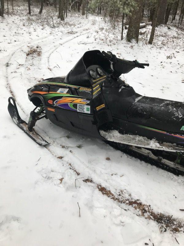 99 Arctic Cat Zl 500