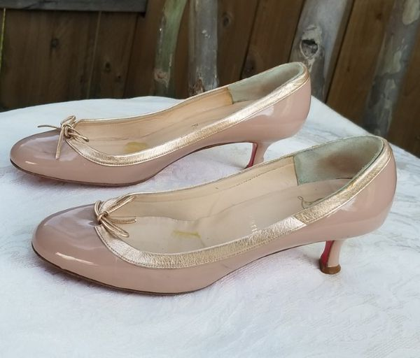 official photos 1cdfa b3d7a Lovely Christian Louboutin kitten heel pumps Size 39 / 9B for Sale in  Arlington, TX - OfferUp