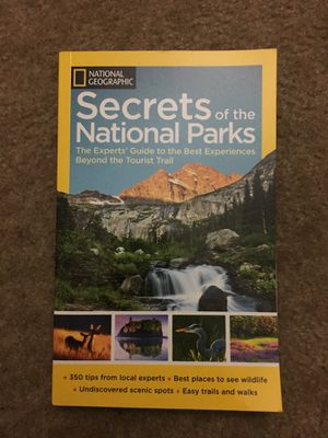 Book National Geographic Secrets of the National Park for Sale in Los Angeles, CA