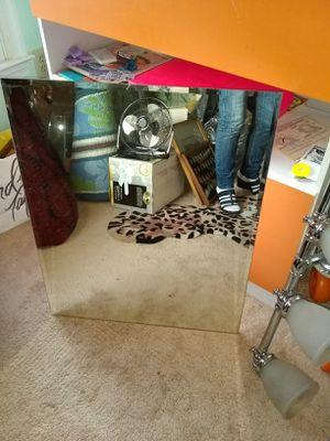 Frameless mirror 30x23 for Sale in Alexandria, VA