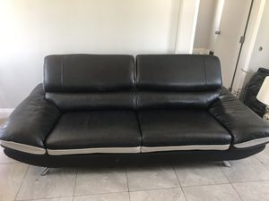 Fine New And Used Black Couch For Sale In Orange Ca Offerup Ncnpc Chair Design For Home Ncnpcorg