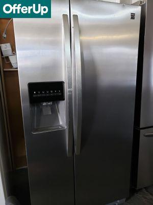 Photo 💥💥💥Kenmore 33 in. Wide Refrigerator Fridge Stainless Steel #1166💥💥💥