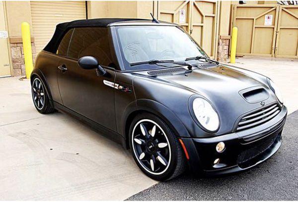 Mini Cooper Convertible Sidewalk Edition