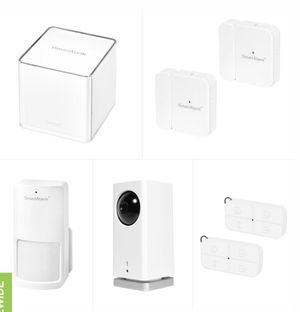 ISmartAlarm bundle with security system and icamera keep for Sale in San Diego, CA