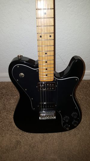 Squire telecaster custom guitar and amp for Sale in Leesburg, FL