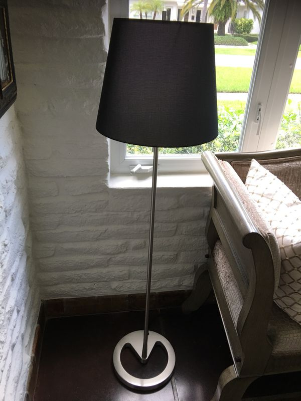 Floor Lamp Ikea Nyfors Shade Black For Sale In South Miami Fl