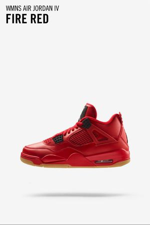 WMNS AIR JORDAN IV FIRED RED Size 7.5 wmns for Sale in Smyrna, TN