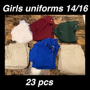 Photo Girls uniforms size 14/16