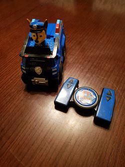 Paw Patrol Chase remote control car Thumbnail