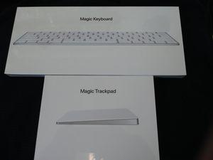 Apple Magic Keyboard and Magic Trackpad for Sale in Renton, WA
