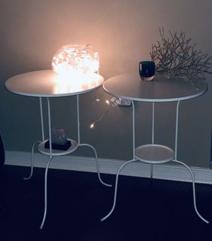 Side table white for Sale in Washington, DC