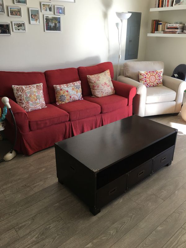 Sofa Bed Queen Size Armchair And Coffee Table Greenwich Ct