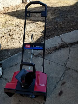 Photo Toro power curve 1800 electric snow thrower