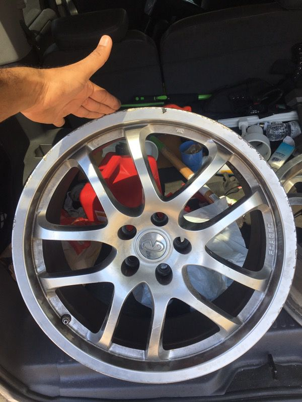 Subaru Of Nashua >> 19 Inch rims Rays Forged Oem infinity G35 & G37 for Sale ...