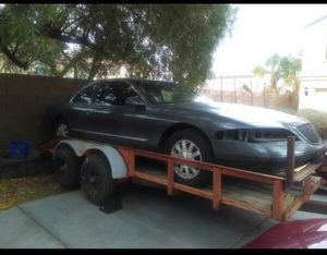HEAVY DUTY Car or Equipment Trailer 2 7k axles with electric brakes for Sale in Salt Lake City, UT