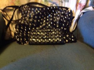 Photo Real black leather purse and matching wallet
