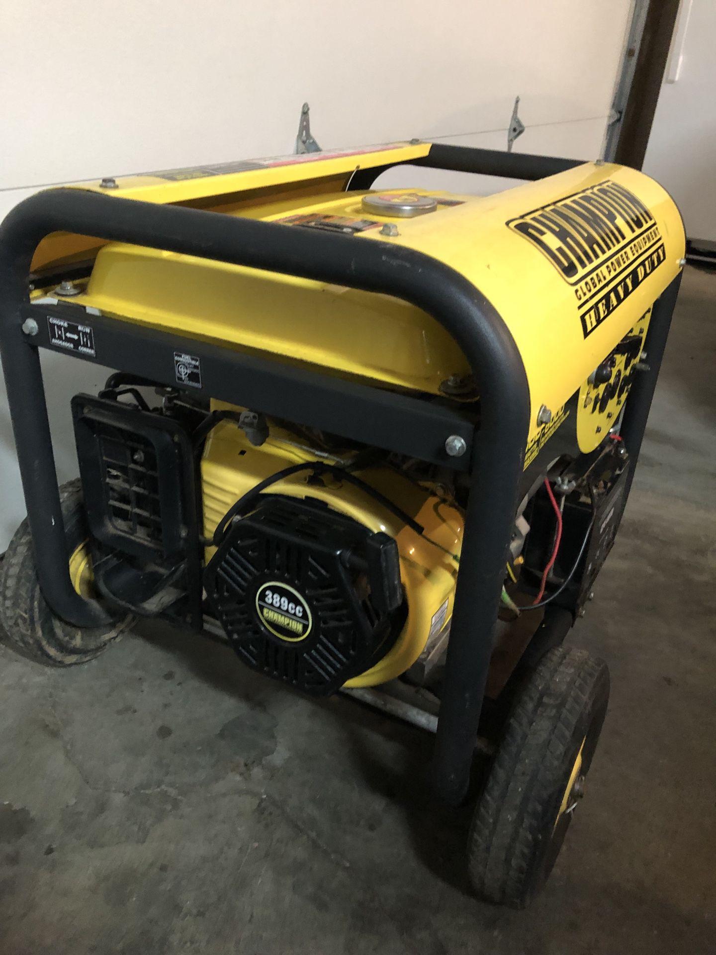 Champion Heavy Duty Generator 7000 Watt