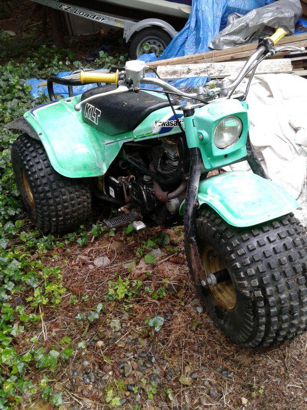 Kawasaki Klt 200 3 Wheeler For Sale In Bonney Lake  Wa
