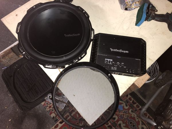 Rockford Fosgate T1 12 and amp Fosgate for Sale in Watsonville, CA - OfferUp