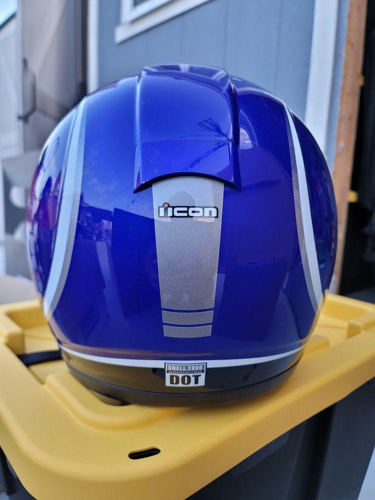 Icon Motorcycle Helmet Size XS