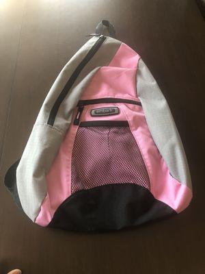 Pink & Grey Sling Backpack for Sale in Sanger, CA
