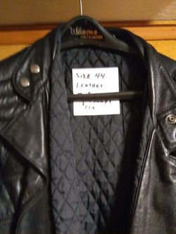 Leather motorcycle jacket Thumbnail