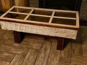 Photo Barnwood coffee table