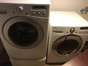 LG washer and dryer front load for Sale in Washington, DC