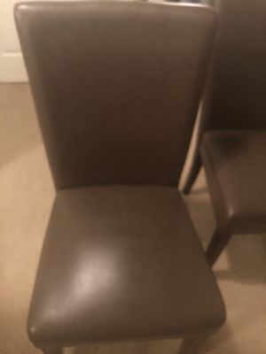Two Brown Chairs for Sale in Raleigh, NC