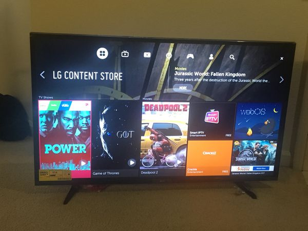 LG 49 inch smart TV - Move out sale for Sale in Redmond, WA - OfferUp