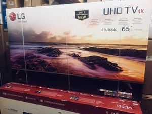 """LG 65UJ6540 65"""" 4K UHD HDR LED Smart TV 2160p *FREE DELIVERY* for Sale in Renton, WA"""