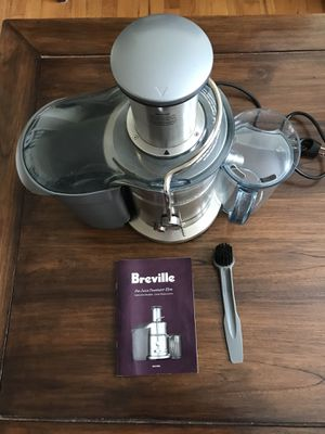 Breville Juice Fountain Elite Juicer for Sale in Alexandria, VA