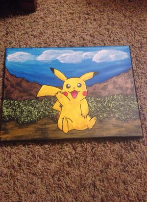 Painting of Pikachu for Sale in Salt Lake City, UT