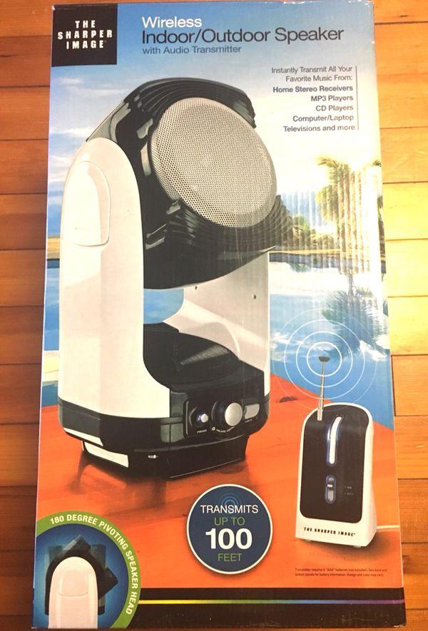 Wireless Indooroutdoor Speaker Sharper Image For Sale In Grafton