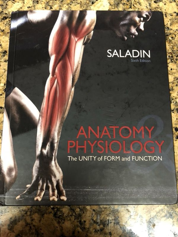Anatomy Physiology Saladin For Sale In Riverside Ca Offerup