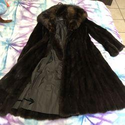 Genuine fur coat $450 Thumbnail