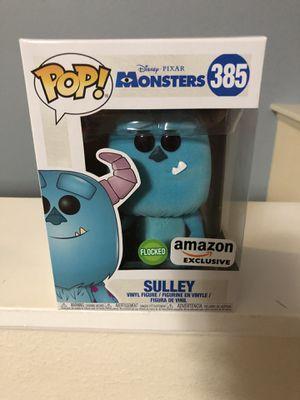 Sulley monsters inc flocked Funko pop for Sale in Ocoee, FL