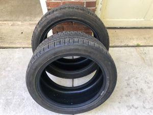 255 40 17 falken tires pair 65% life for Sale in Centreville, VA