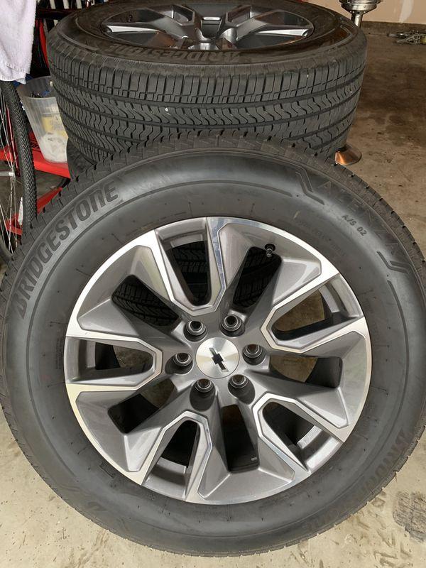 Chevy Silverado Stock Rims >> 20 inch Stock 2019 Chevy Silverado wheels and tires. for Sale in La Verne, CA - OfferUp