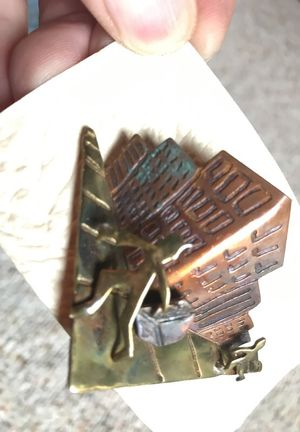 Handmade City pin broach for Sale in Cleveland, OH