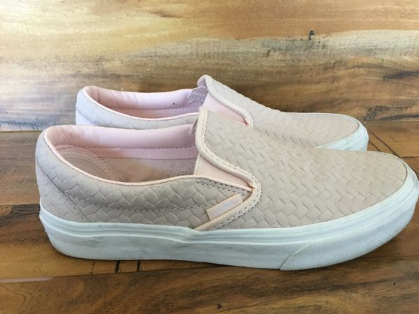 a5bddc106c Vans - Embossed Woven Suede Slip-On (Size 7) for Sale in Union City ...
