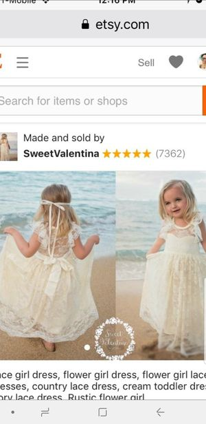 829350a0f26 Flower girl dress wedding dress brand new with tag for 2 or 3 year old for