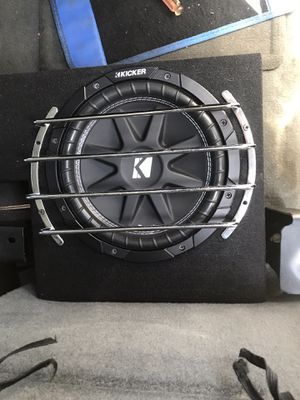 2 Kicker 10s Subs for Sale in Los Angeles, CA