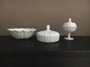 Vintage milk glass for Sale in Reston, VA