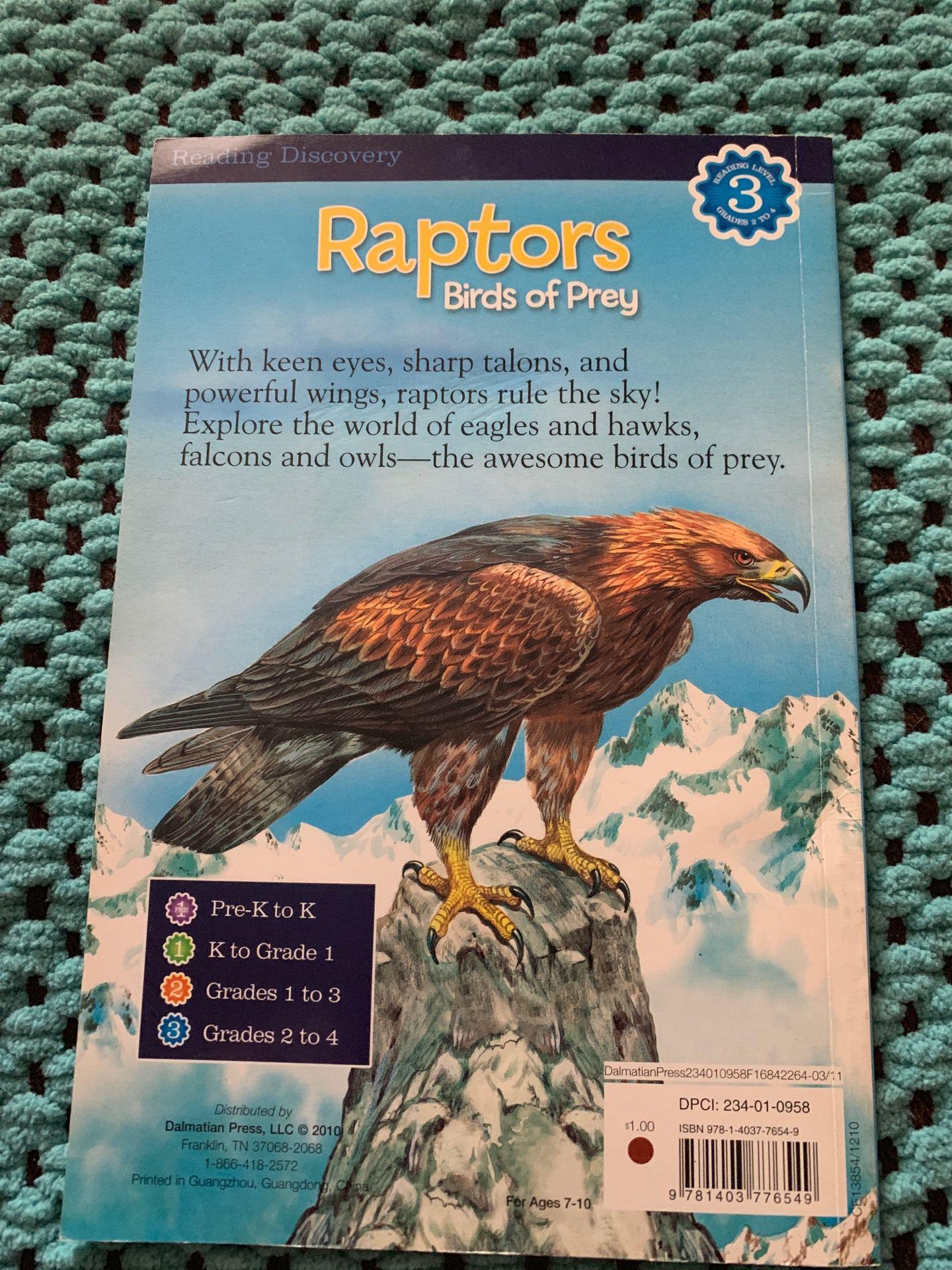 Book, Raptors Birds Of Prey