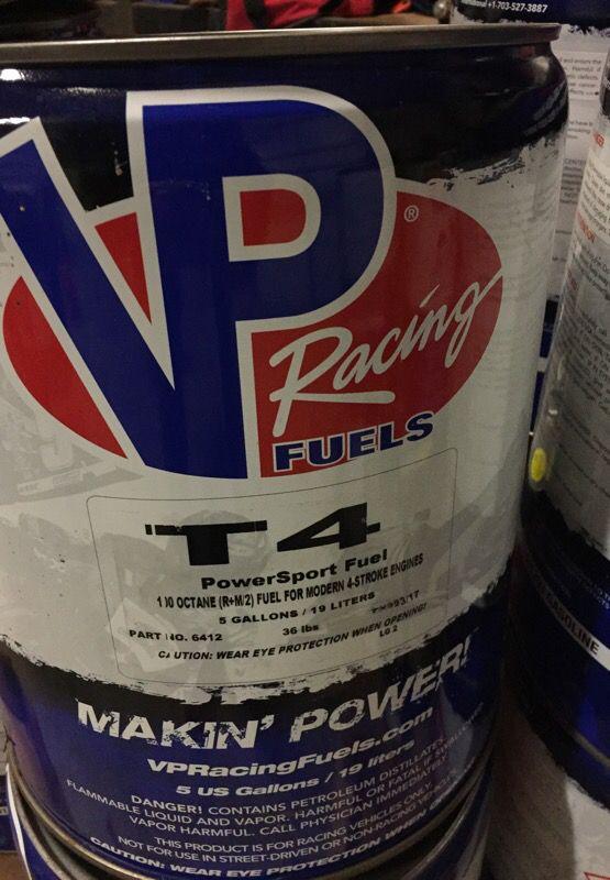 VP race fuel  T4 four stroke fuel for Sale in Krum, TX - OfferUp